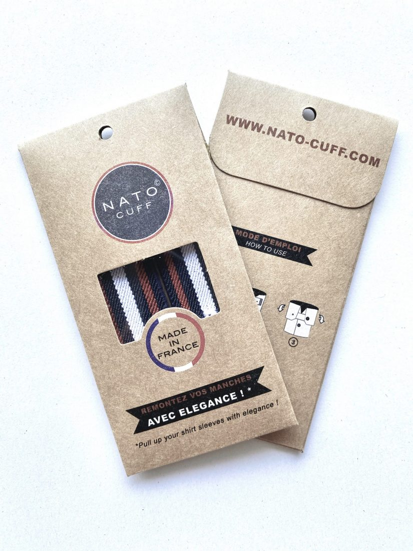 Nato Cuff packaging