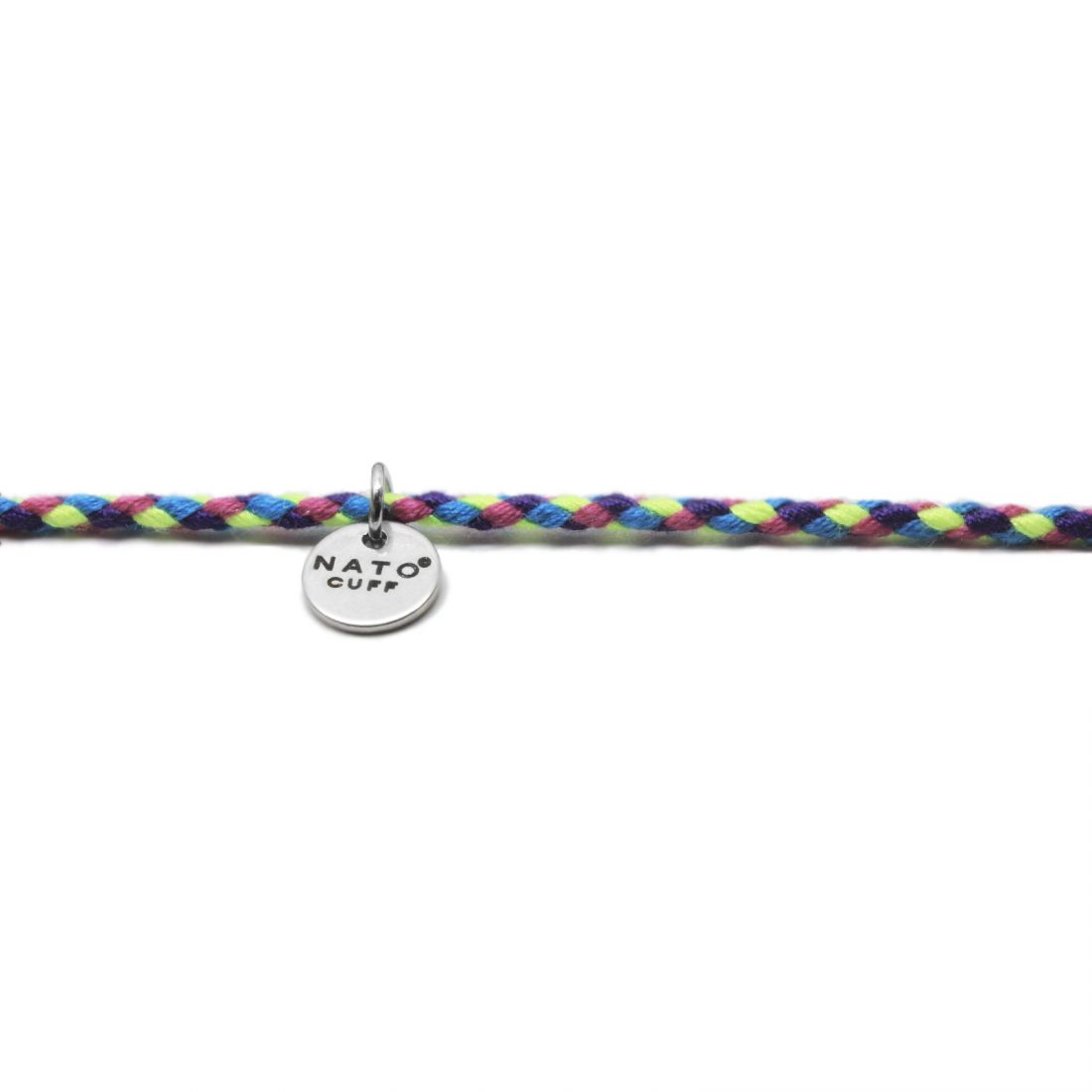 Nato Cuff – Bracelet Coton ajustable 1