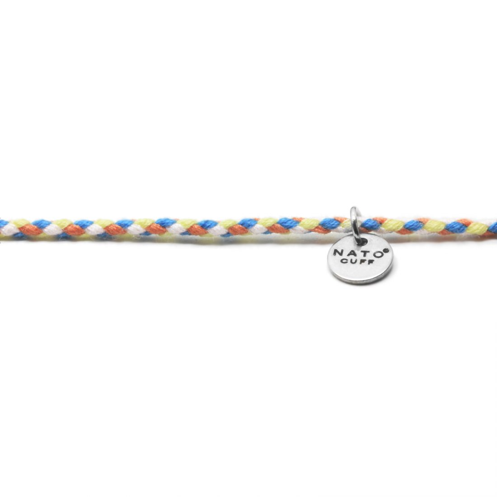 Nato Cuff – Bracelet Coton ajustable 6