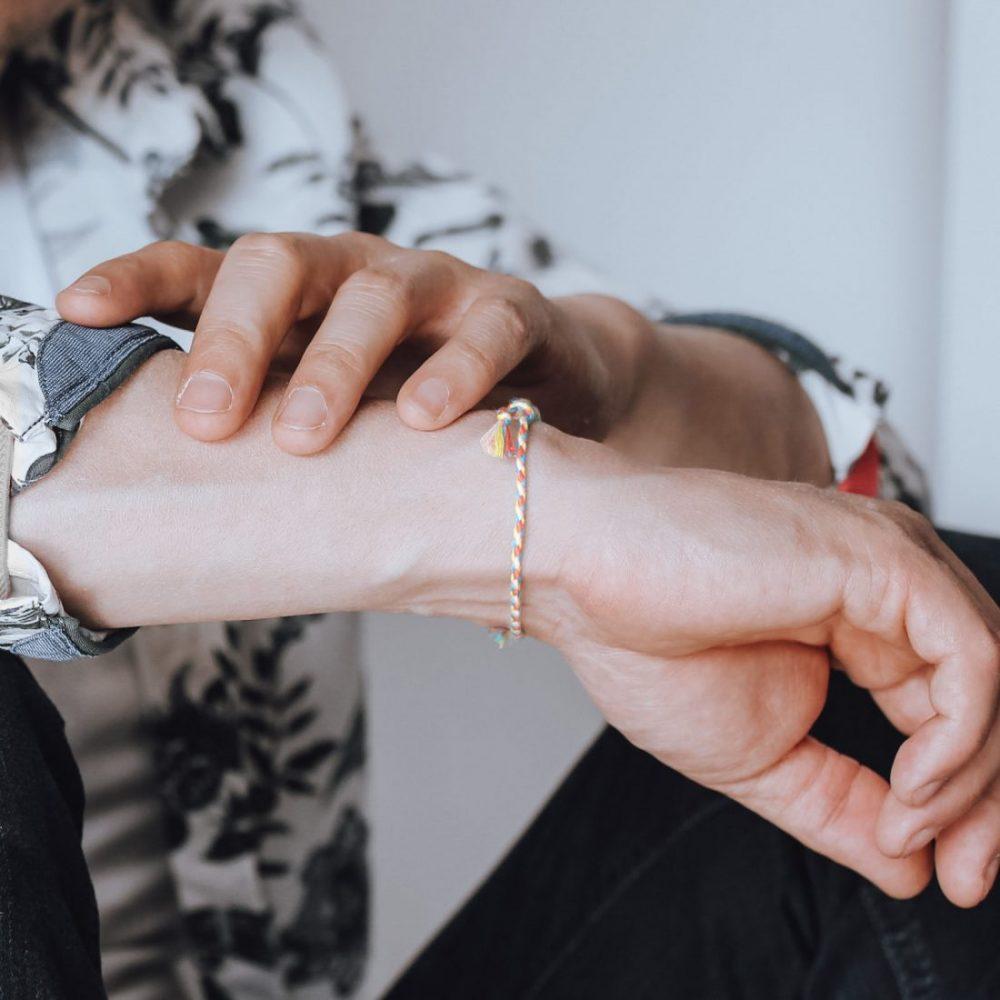 Nato Cuff Bracelet Coton tresse summer 2