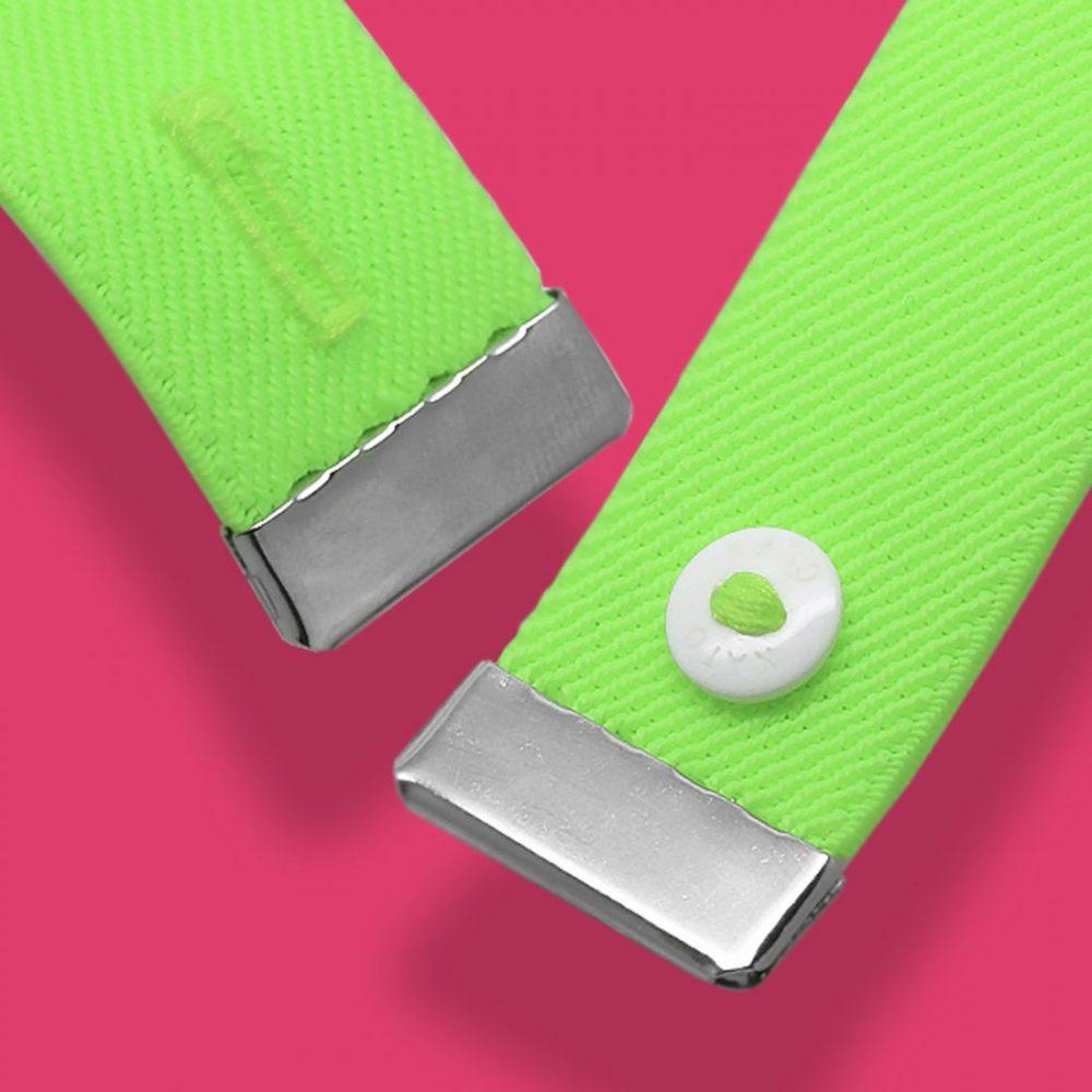 Nato Cuff-Fluo Green Macro