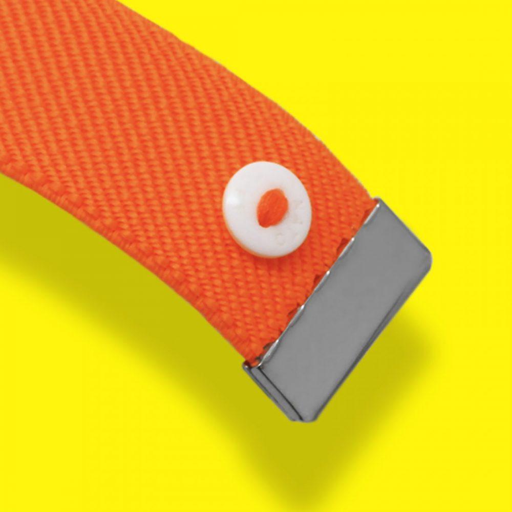 Nato Cuff-Fluo Orange Macro