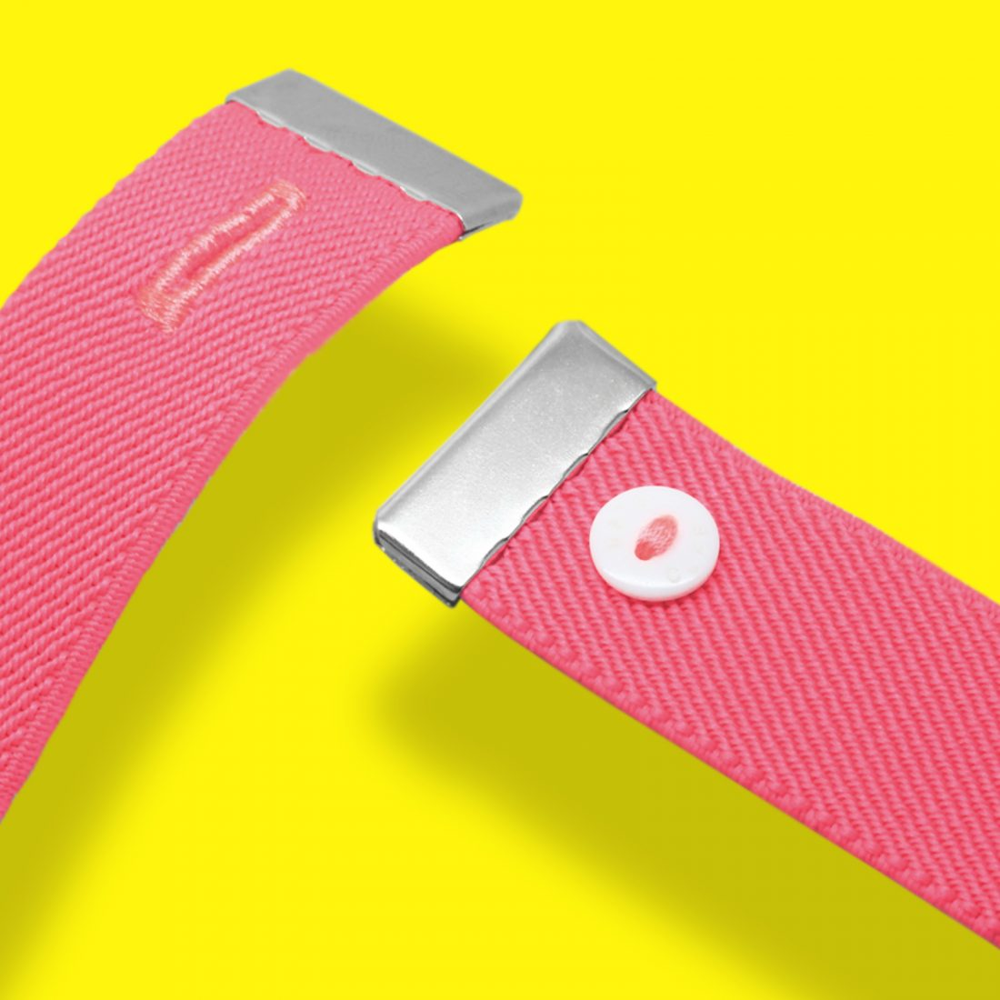 Nato Cuff-Fluo Pink Macro
